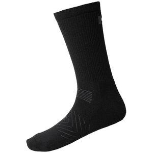 Kojinės  Manchester, juoda, 3 poros 43-46, Helly Hansen WorkWear