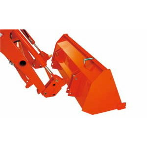 137 cm bucket, fixed attachment LA454, Kubota