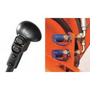 3rd function valve kit for loader LA1854 or front linkage, Kubota
