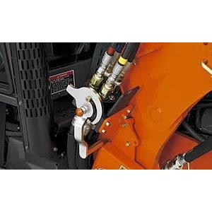 Hydraulic Quick Coupler (4-point) for loader LA1854, Kubota