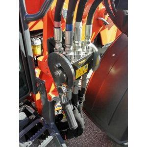 Hydraulic Quick Coupler (6-point) for loader LA1854, Kubota