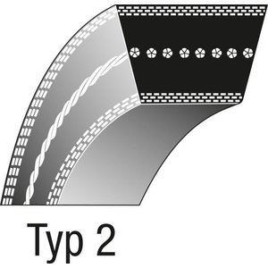 Belt MURRAY 37x 3, Ratioparts