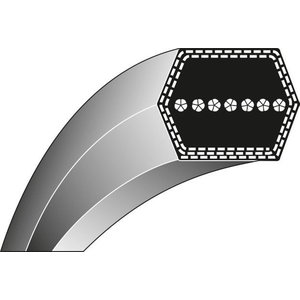 Belt AA105  12,7x2667 L, Ratioparts