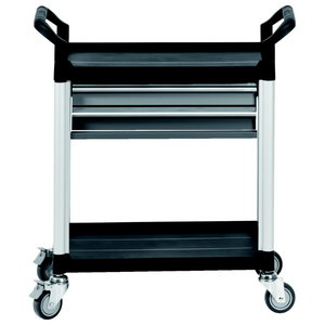 Įrankių vežimėlis su  2 stalčiais, KS tools