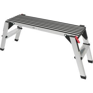 Aluminium work platform, 1000x405x480mm, Kstools