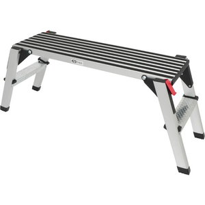 alumiiniumplatvorm 960x300mm, H480mm, max 150kg