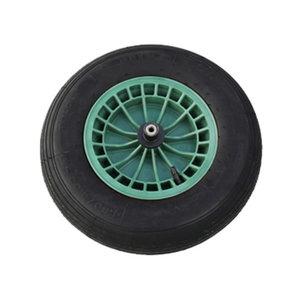 колесо для тачки 400x100 комплект, FORT