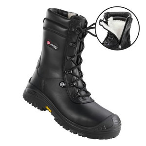 Winter boots Terranova-Atlantida, black, S3 CI SRC 43, Sixton Peak