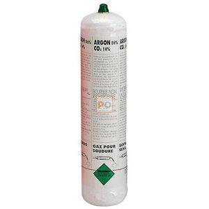 Throwaway bottle Argon/Co2 (1L), Telwin