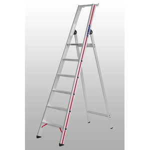 Step ladder with platform, 10 step, single-sided accessible 8026, Hymer