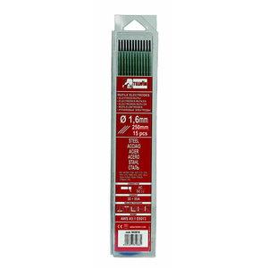 w.electrodes RUTILE 1,6x250mm 15pcs, Telwin