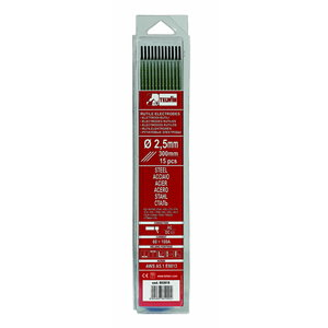 W.electrode RUTILE 2,0x300mm 15pcs, Telwin