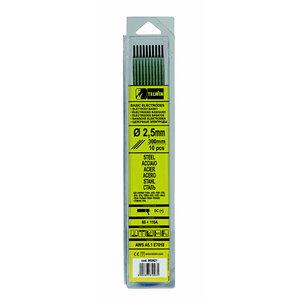 Suvirinimo elektrodas BASIC 2,5x300mm 10vnt., Telwin