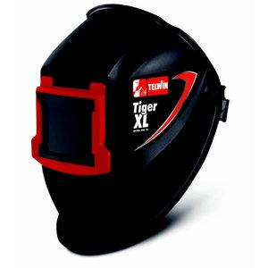 Metināšanas maska TIGER XL 90x110mm, paceļama priekšpuse, Telwin