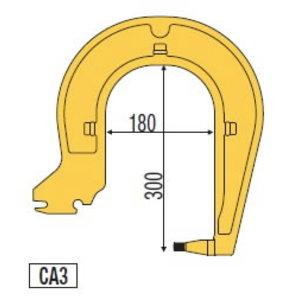 Punktkeevitusekäpad 300mm koos el.Inverspotter 13500/14000, Telwin