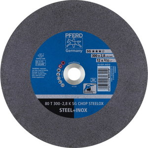 Griezējdisks 300x2,8/25,4mm K SG CHOP STEELOX, Pferd