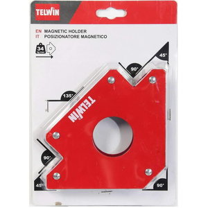 Magnetic holder 45°,90°,135°, magnetic force 34kg, Telwin