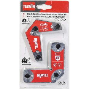 Magnetic holders kit (2pcs) 15°,45°,60°,90°, Telwin