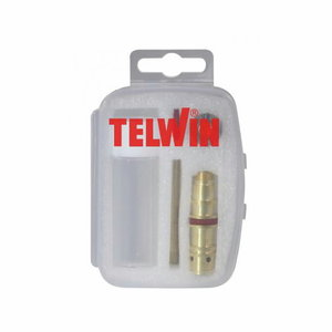TIG-torch consumables kit 2,4mm Crystal Clear Cup-long-box, Telwin