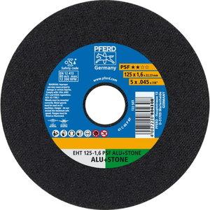 Cut-off wheel 125x1,6mm PSF ALU+STONE, Pferd