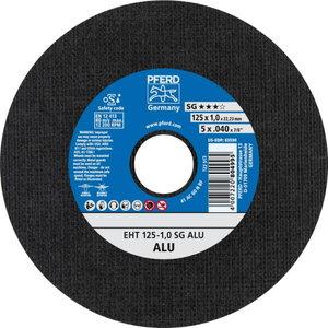 Pjovimo diskas SG ALU 125x1mm, Pferd