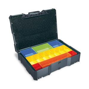Sortimendi kohver Tanos Systainer® T-Loc I karpidega, hall, Festool