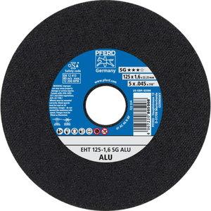 Pjovimo diskas 125x1,6mm SG ALU, Pferd