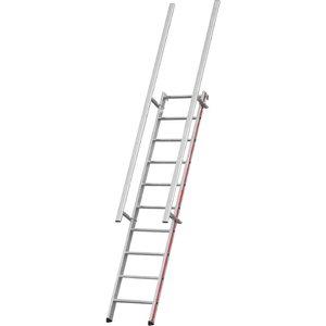 Scaffolding ladder 12 steps, 2,80m 8058, Hymer