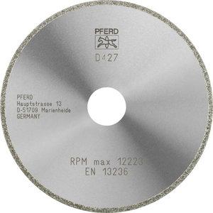Teemantketas 125x2x22,2mm D427 GAD D1A1R, Pferd