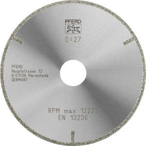 Teemantketas 125x2x1mm D 427 GAG D1A1R, Pferd