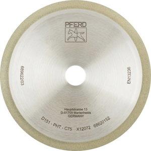 Deimantinis diskas 150x1x7x20mm D151 PHT C75 1A1R, Pferd
