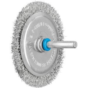 Wheel brush 70x04/6mm INOX 0,2 RBU, Pferd
