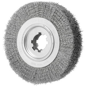 Wheel brush RBU 250x60/50,8mm wire 0,5mm, Pferd