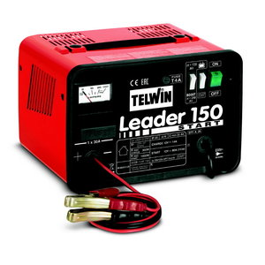 Battery charger LEADER150 START with amperemeter (ex 807549), Telwin
