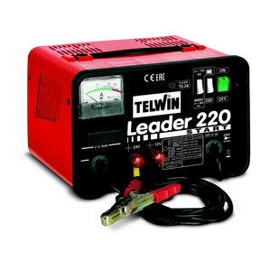 Akumulatora lādētājs LEADER 220 START, Telwin