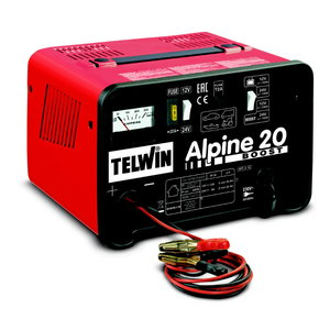 12/24V akulaadija Alpine 20 Boost ampermeetriga, Telwin