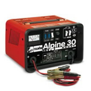 Alpine 30 Boost battery charger with amperemeter, Telwin