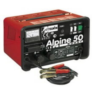 Alpine 50 Boost battery charger with amperemeter, Telwin