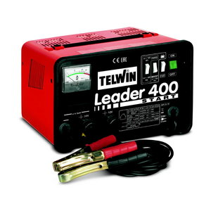 Akumulatora lādētājs LEADER 400 START, Telwin