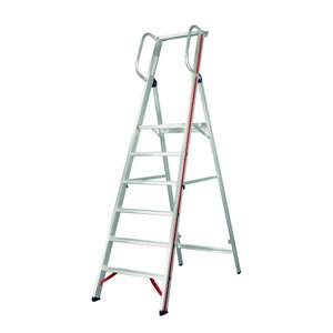 Platform ladder with handrail 8080, Hymer