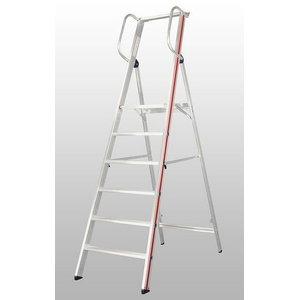 Platform ladder with handrail 8080, Hymer