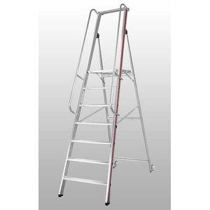 Platform ladder, 9 steps 2,1m 8081, Hymer