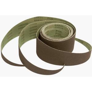 Sanding belt 77x2400mm / K120 / Slik 5.0 - 3pcs, Scheppach
