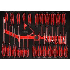 Kruvikeeraja komplekt vahtmoodulis, 24 osa, KS Tools