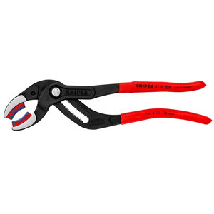 Siphon Pliers with plastic inserts 250mm up to D75mm, Knipex