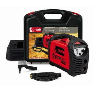 Electrode-welder Force 165+ACX+PLASTIC CARRY CASE, Telwin
