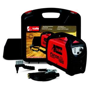 Inverter welder Force 195 - ACX - Plastic carry case, 230V, Telwin