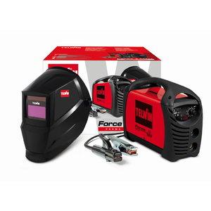 Elektrodu metin. iekārta Force 165 ar piederumiem&aut.masku, Telwin