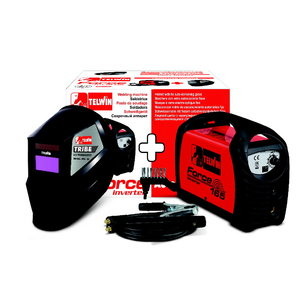 Electrode-welder Force 165 + ACX + automatic welding helmet, Telwin