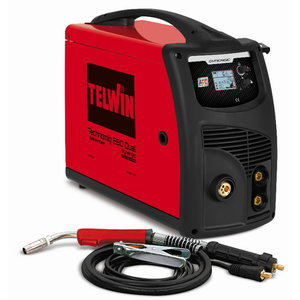 MIG/MAG metināšanas iekārta Technomig 260 Dual Synergic, Telwin